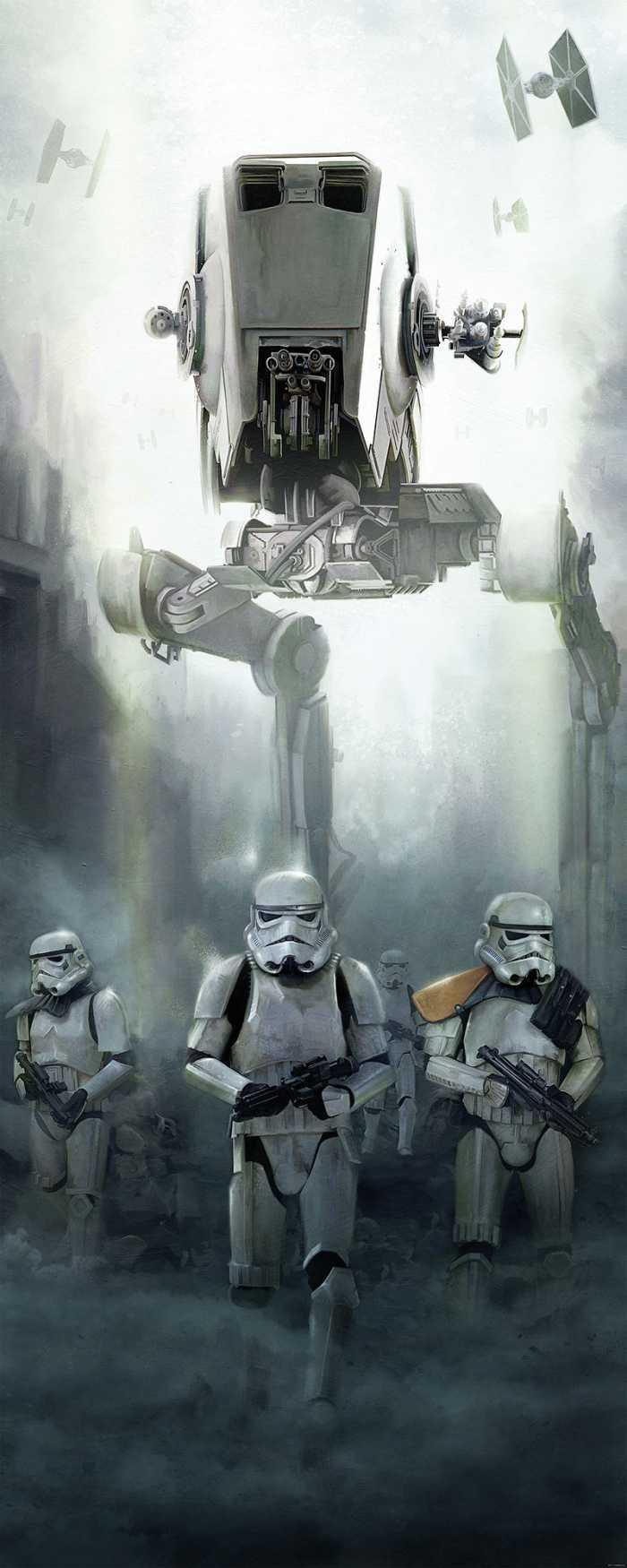 Panneau sur intissé  Star Wars Imperial Forces
