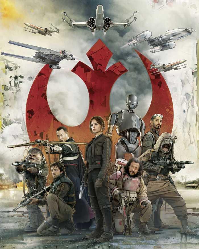 Poster XXL impression numérique Star Wars Rebels