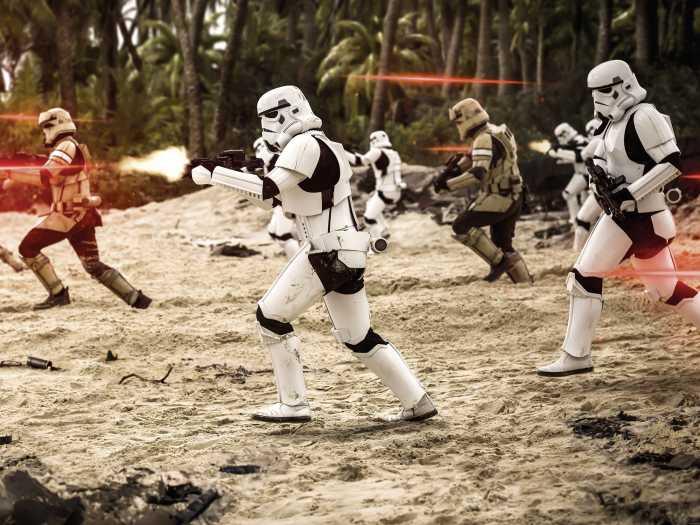 Poster XXL impression numérique Star Wars Imperial Strike