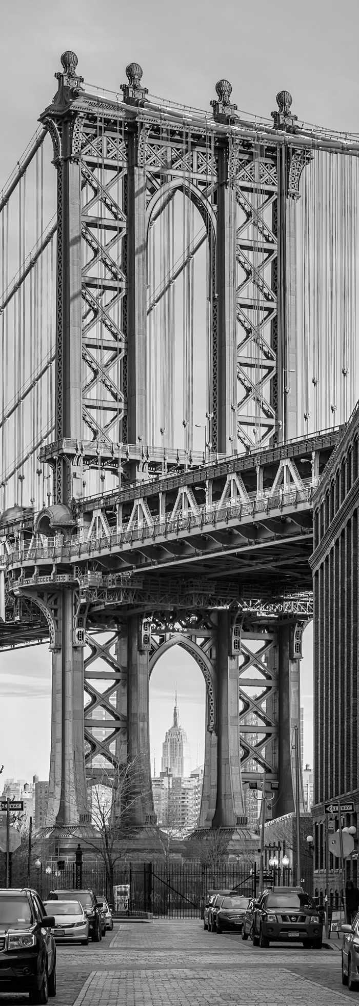 Panneau sur intissé  Brooklyn View