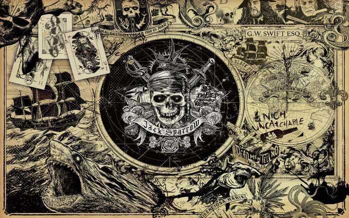 Poster XXL impression numérique Pirates of the Caribbean 5