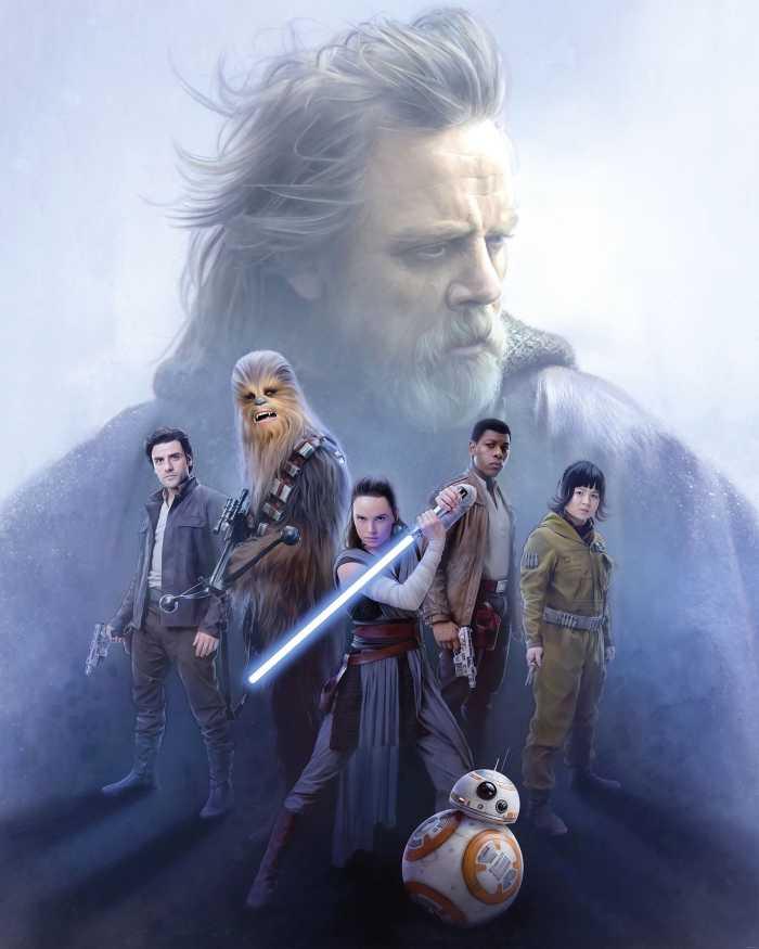 Poster XXL impression numérique Star Wars Last Hope