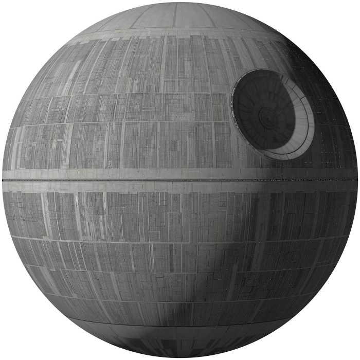 Sticker mural Star Wars XXL Death Star