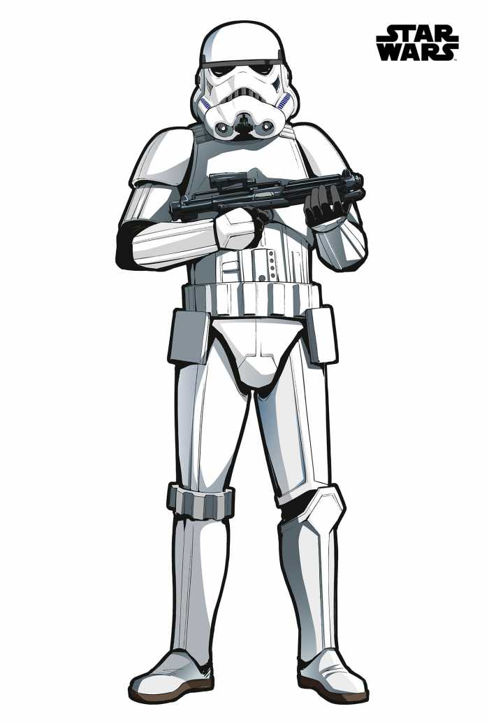 Sticker mural Star Wars XXL Stormtrooper