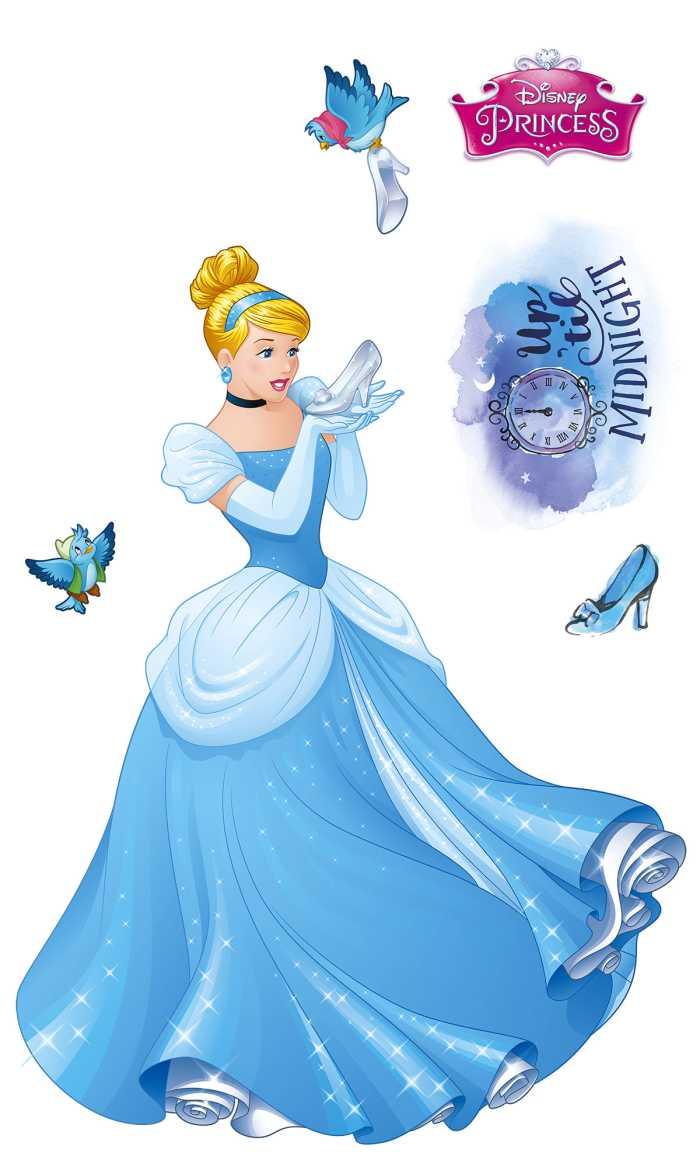 Sticker mural Cinderella XXL