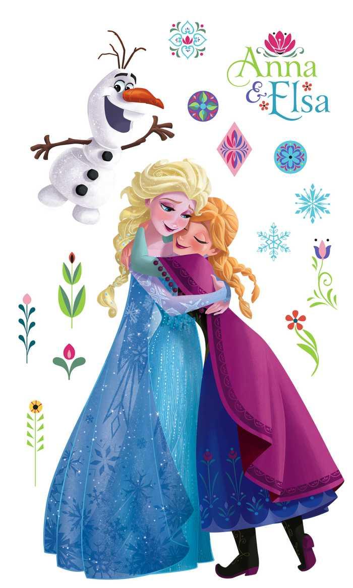 Sticker mural Frozen Nordic Summer XXL