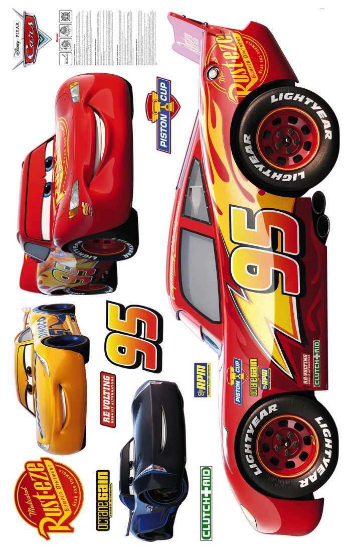Sticker mural Cars XXL