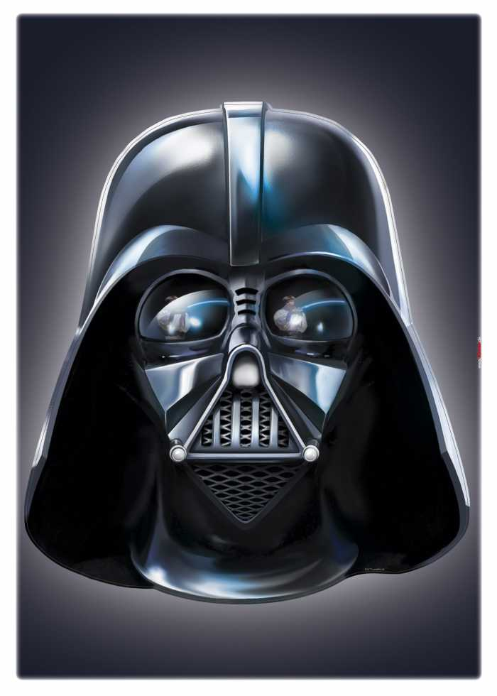 Sticker mural Star Wars Darth Vader