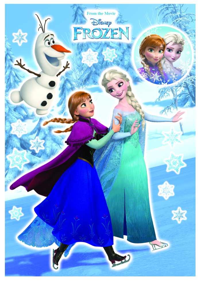 Sticker mural Anna und Elsa