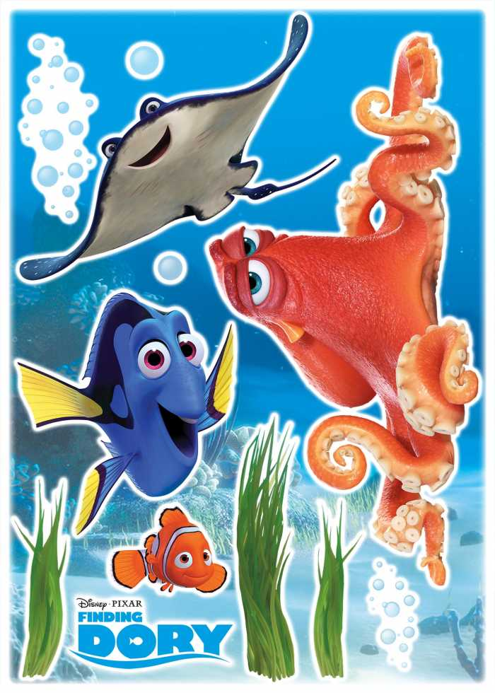 Sticker mural Dory and Friends