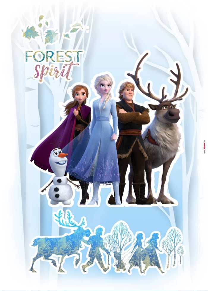 Sticker mural Forest Spirit