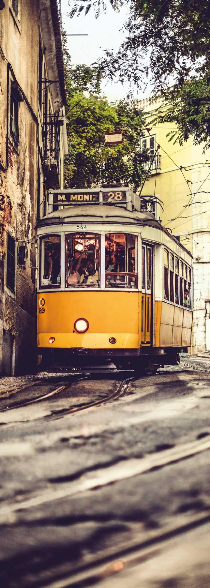 Panneau sur intissé  Lissabon