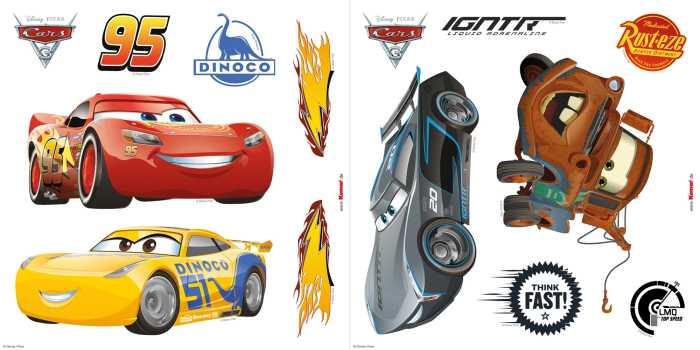 Sticker fenêtre Cars3