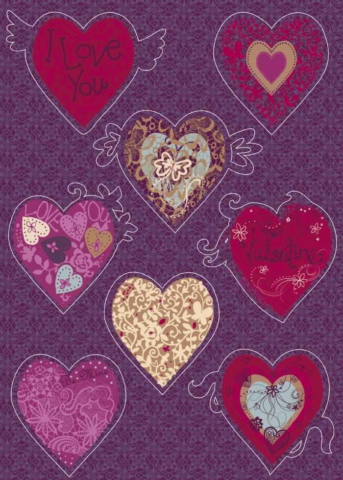Sticker mural Valentine
