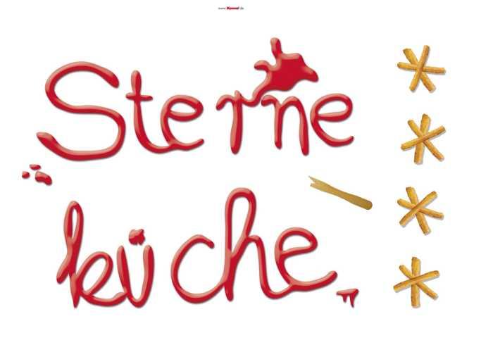 Sticker mural Sterneküche