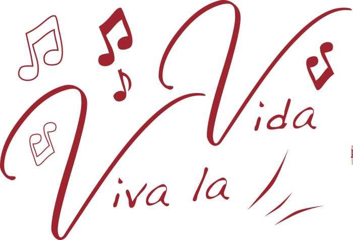 Sticker mural Viva la Vida
