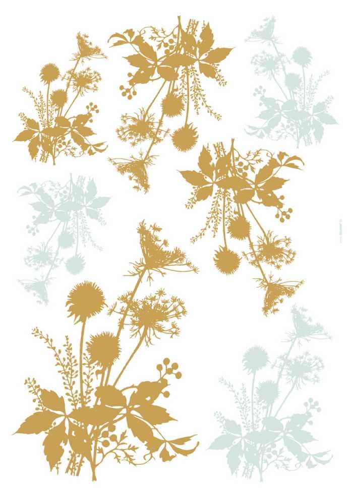 Sticker mural Wiesenblumen