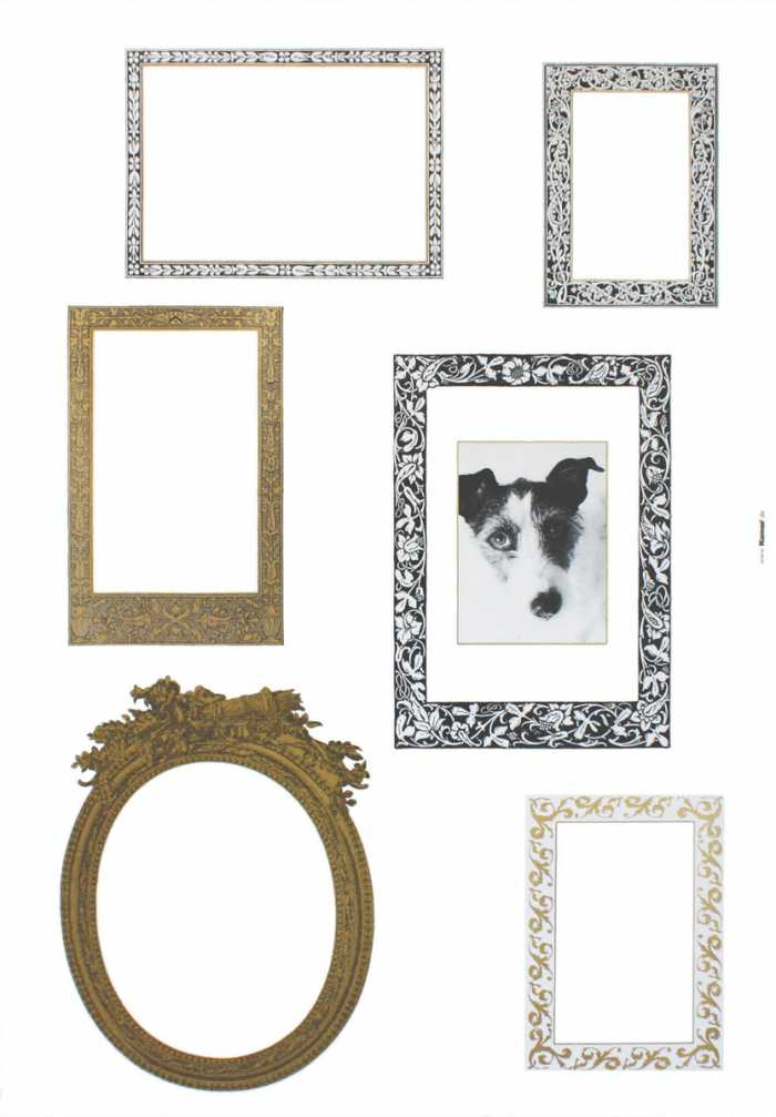 Sticker mural Frames