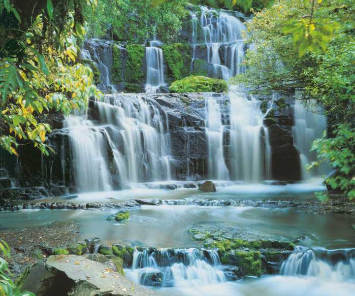 Poster XXL impression numérique Pura Kaunui Falls