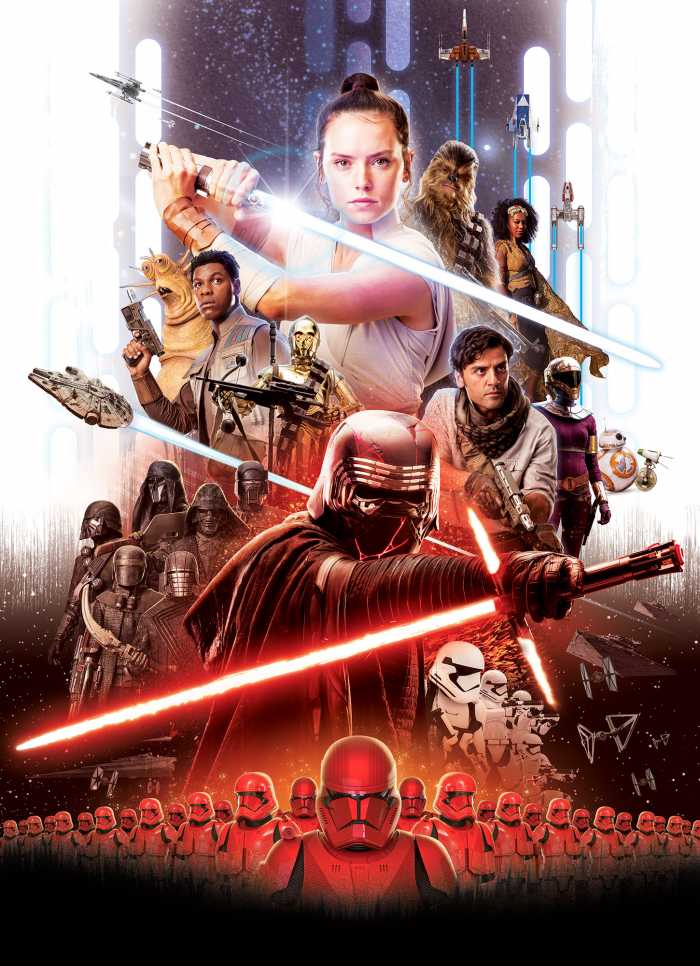 Photo murale Star Wars Movie Poster Rey