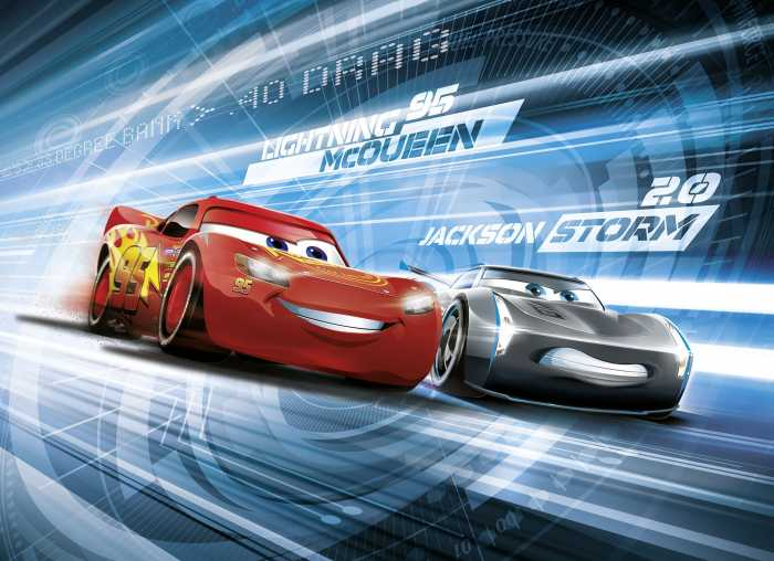 Photo murale Cars3 Simulation