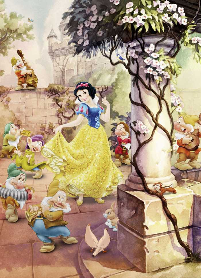 Photo murale Dancing Snow White