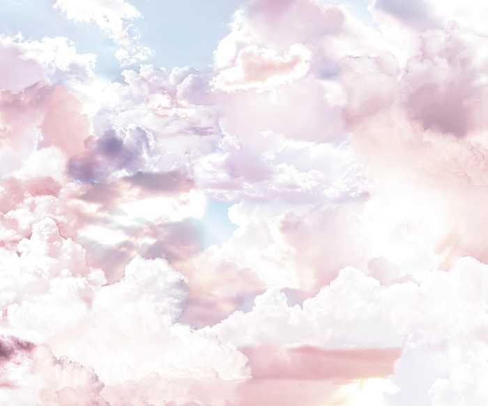 Poster XXL impression numérique Clouds