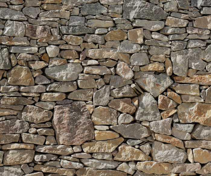 Poster XXL impression numérique Stone Wall
