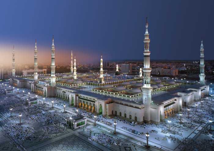 Photo murale Medina Mosque