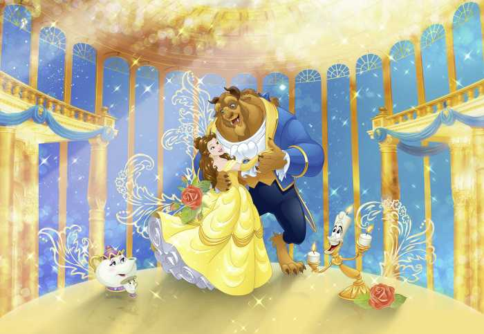 Photo murale Beauty and the Beast