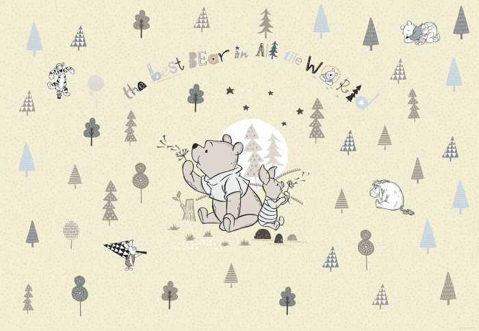 Photo murale Winnie Pooh Best Bear
