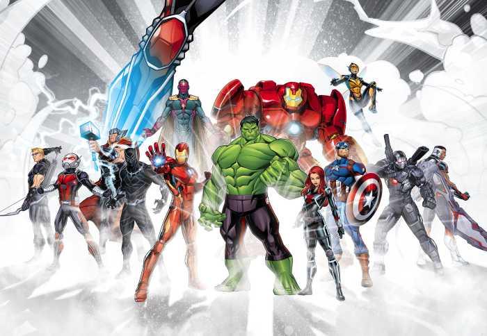 Photo murale Marvel Avengers Unite