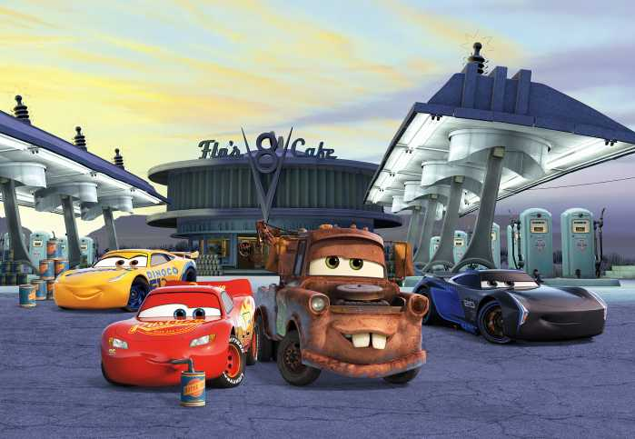 Photo murale Cars3 Station