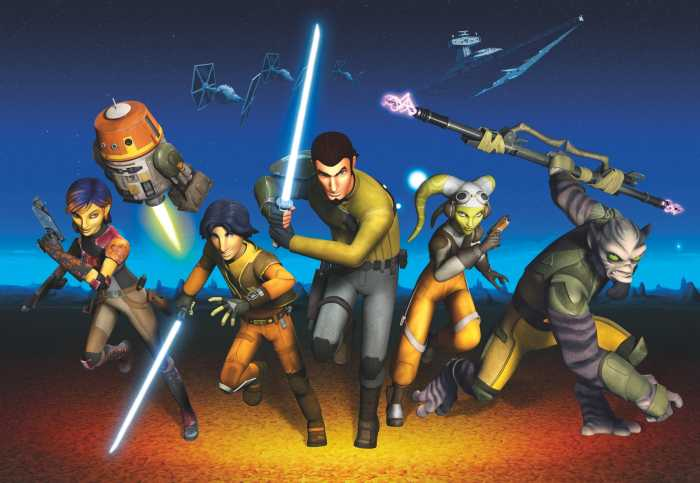 Photo murale Star Wars Rebels Run