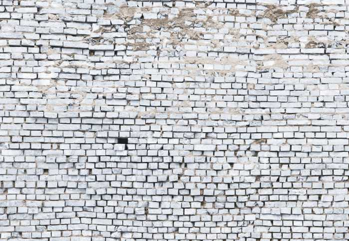Photo murale White Brick