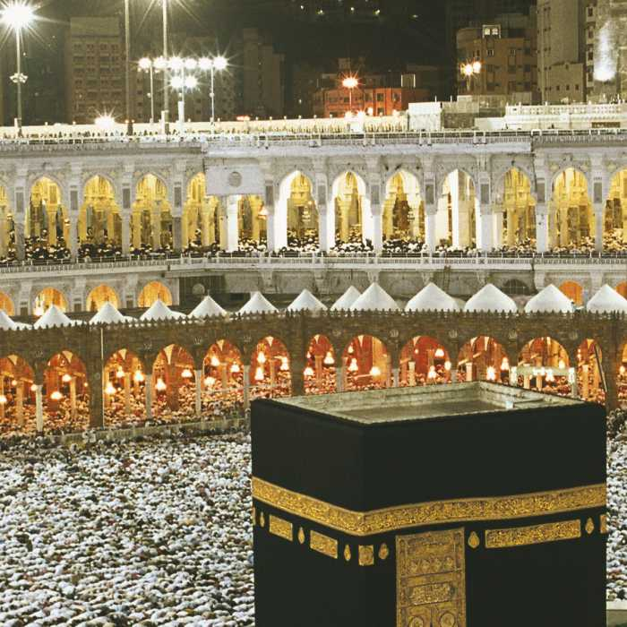 Photo murale Kaaba at Night