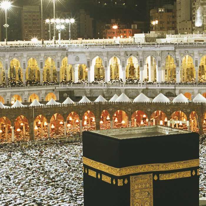 Photo murale Kaaba at Night