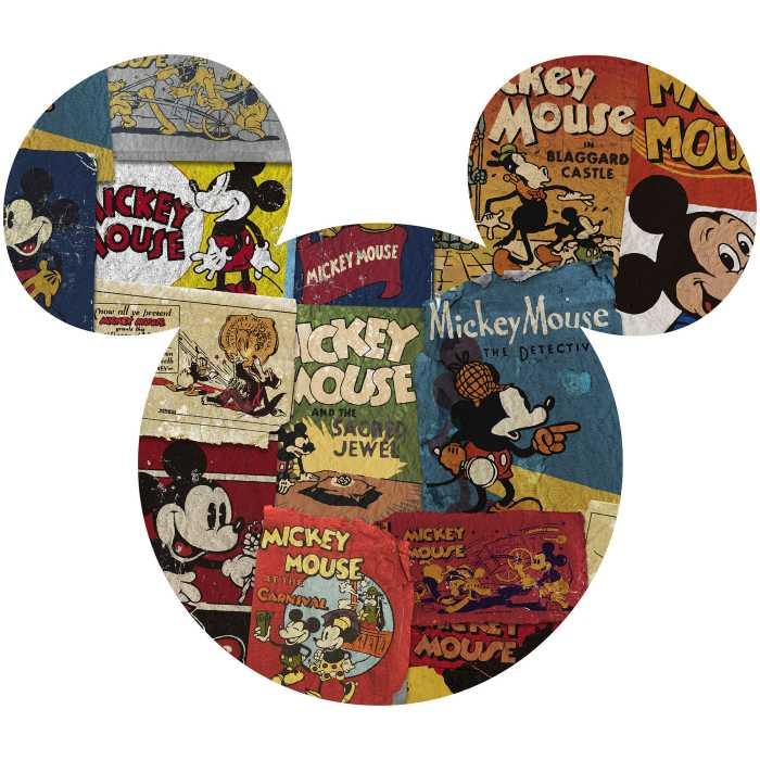 Sticker mural Mickey Head Billboard