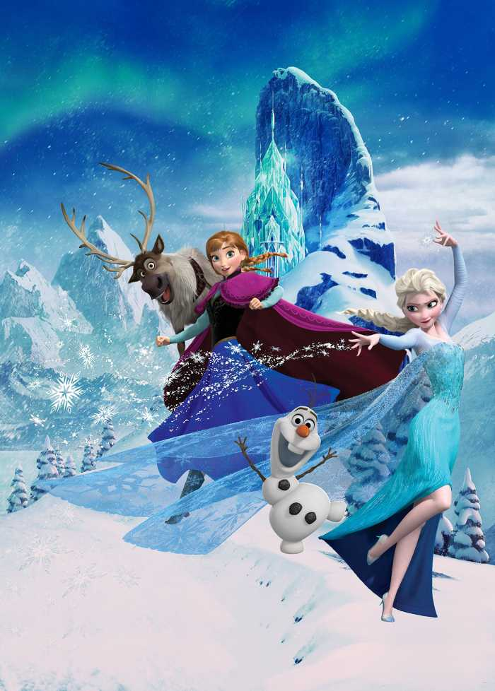 Poster XXL impression numérique Frozen Elsas Magic