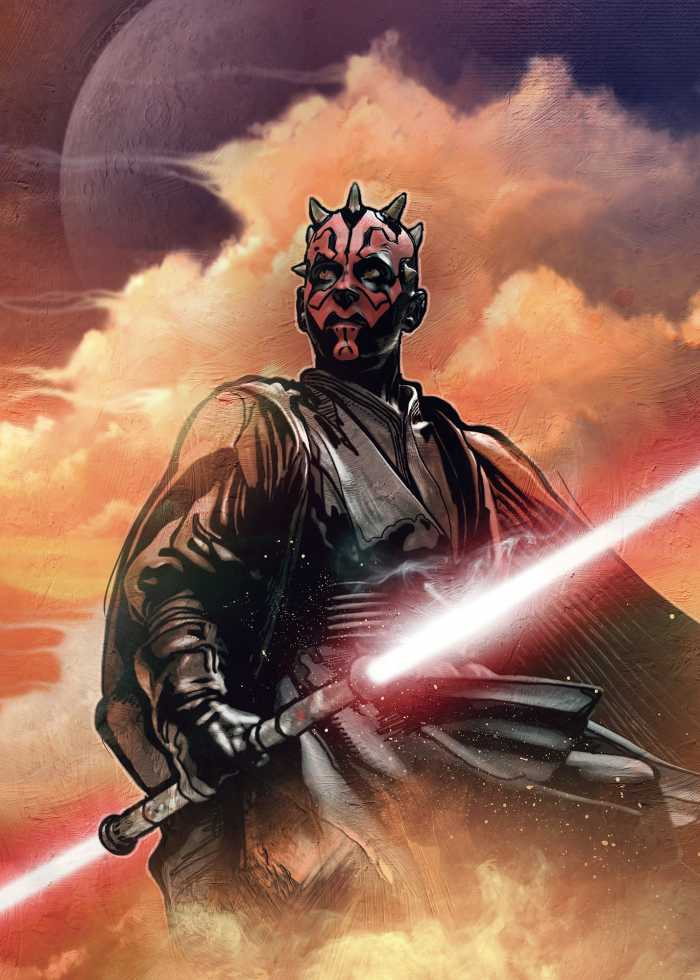 Poster XXL impression numérique Star Wars Classic Darth Maul