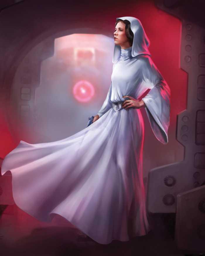 Poster XXL impression numérique Star Wars Classic Leia