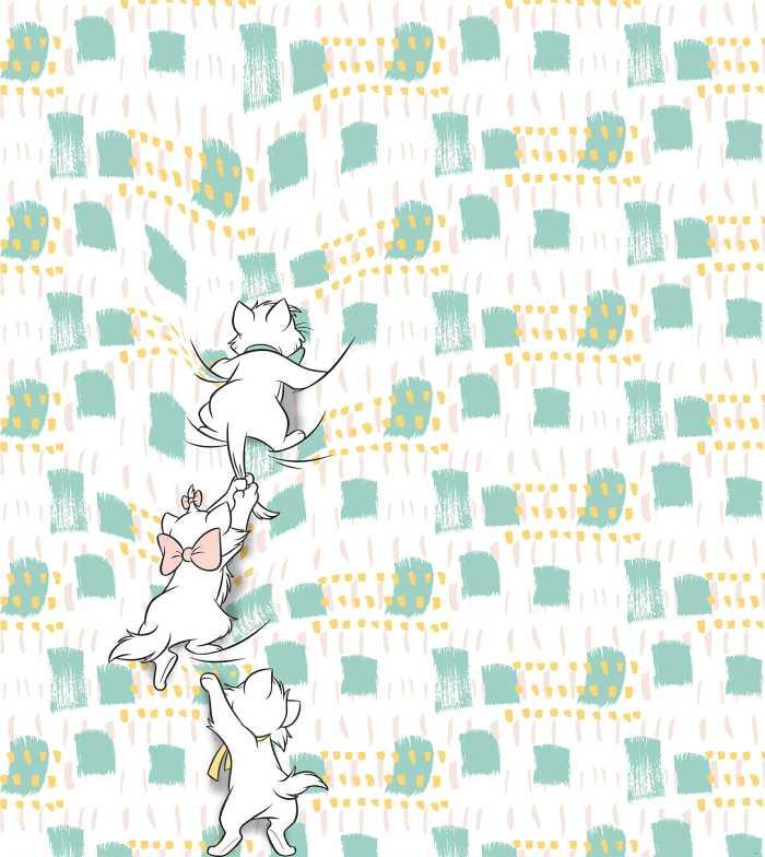 Poster XXL impression numérique Kitty Climbers
