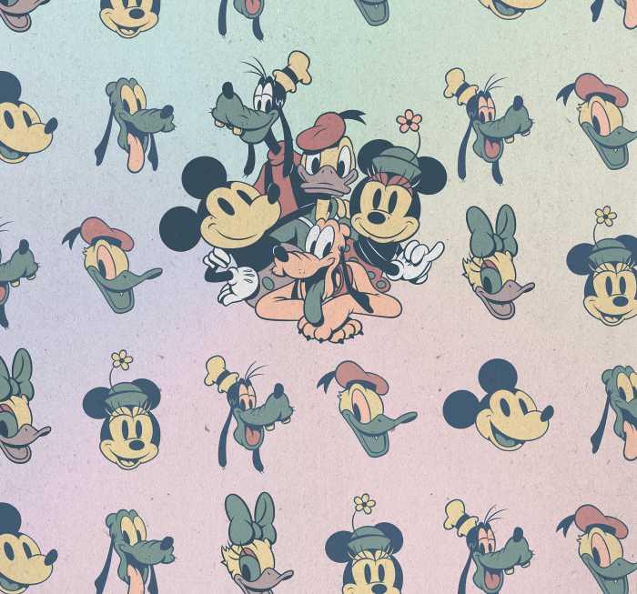 Poster XXL impression numérique Mickey Fab5