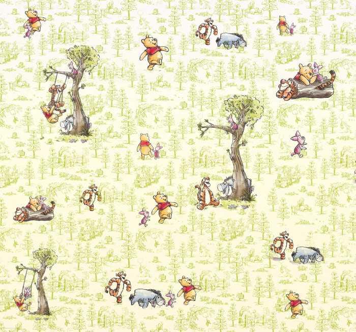 Poster XXL impression numérique Winnie Pooh Friends