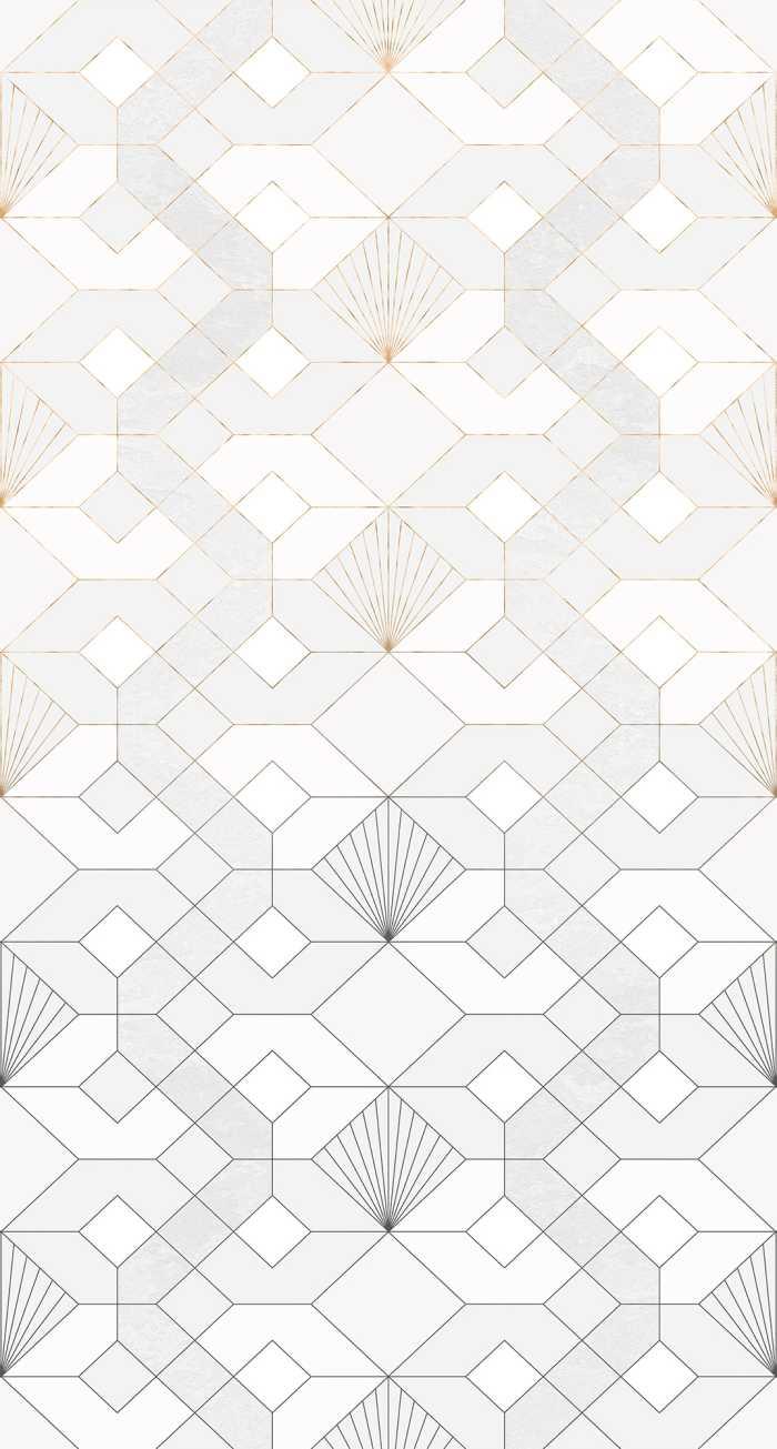 Poster XXL impression numérique Coquilles Blanches