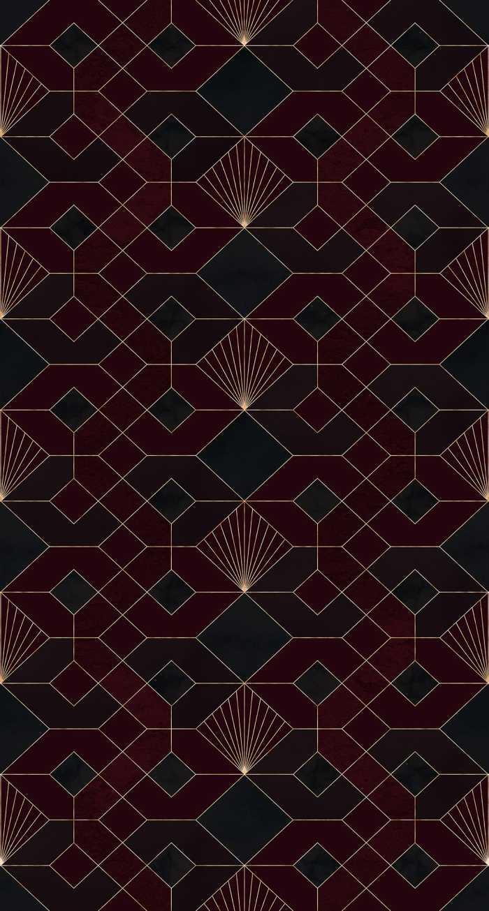 Poster XXL impression numérique Coquilles Rouges