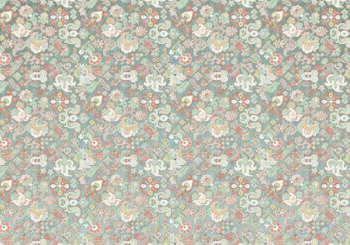 Poster XXL impression numérique Fleurs d'Océan