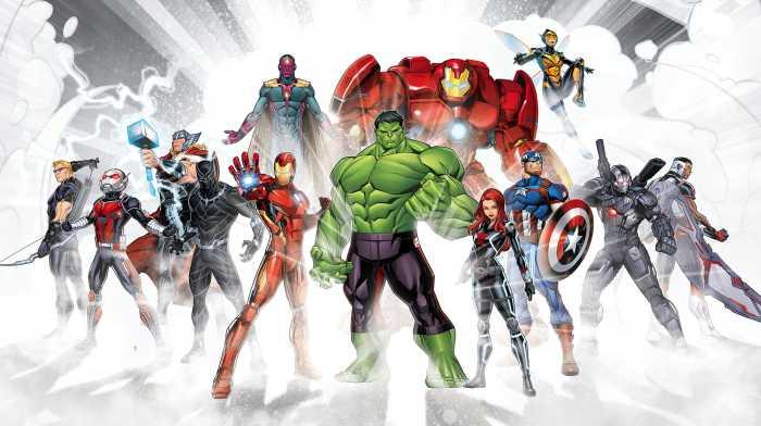 Poster XXL impression numérique Avengers Unite