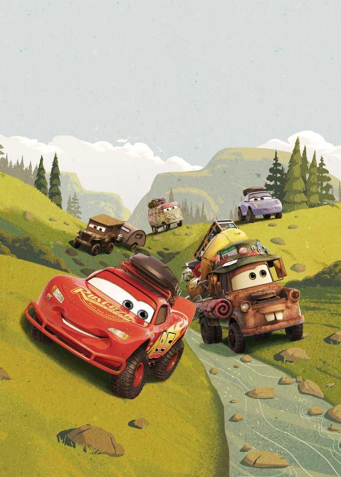 Poster XXL impression numérique Cars Camping