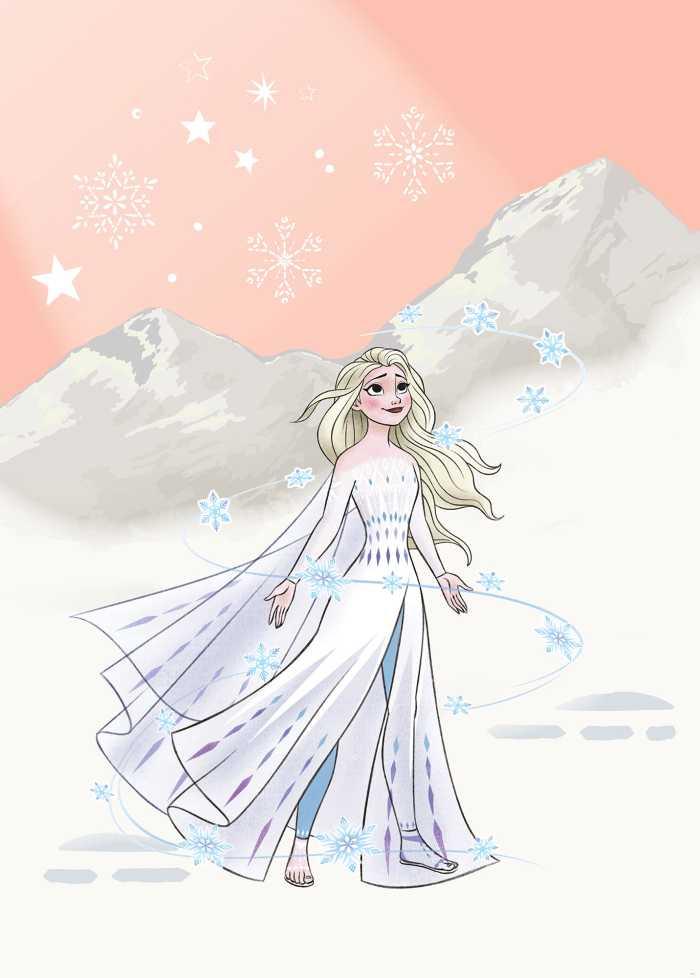 Poster XXL impression numérique Frozen Winter Magic